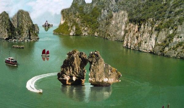Hòn trống mái vịnh Hạ long