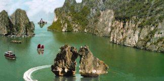 Hòn trống mái du lịch vịnh Hạ long